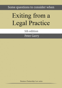 Exiting from a Legal Practice